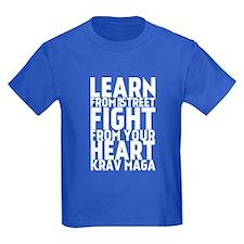 Learn from the street Krav Maga T-Shirt