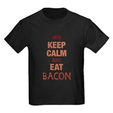 Keep Calm Eat Bacon T