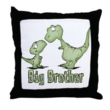 Dinosaurs Big Brother Throw Pillow