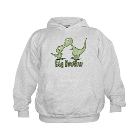Dinosaurs Big Brother Kids Hoodie