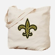 Cute New orleans black festival Tote Bag