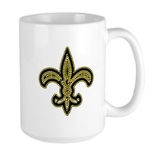 New Orleans Fleur De Lis Mugs