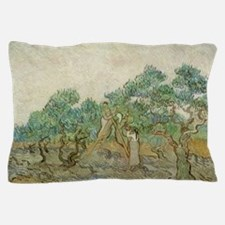 Vincent Van Gogh - The Olive Orchard Pillow Case