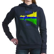 Brazil World Cup 2014 Hooded Sweatshirt