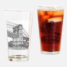 brideclean_edited-1 Drinking Glass