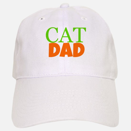 Cat Dad Baseball Baseball Baseball Cap