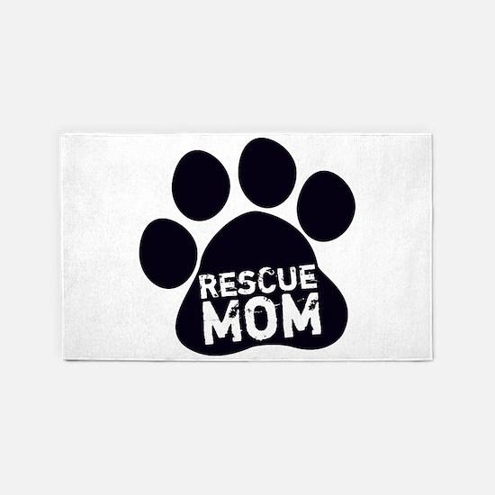 Rescue Mom 3'x5' Area Rug