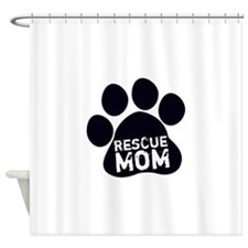 Rescue Mom Shower Curtain