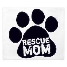 Rescue Mom King Duvet
