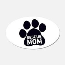 Rescue Mom Wall Decal