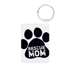 Rescue Mom Keychains