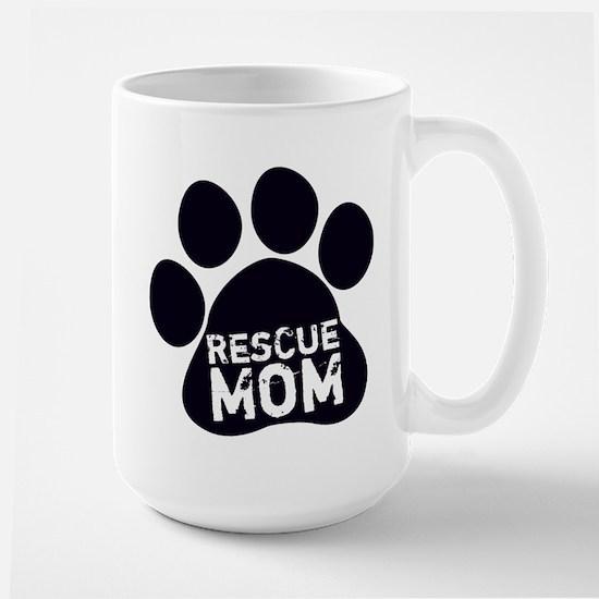 Rescue Mom Large Mug