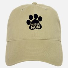 Rescue Mom Baseball Baseball Cap