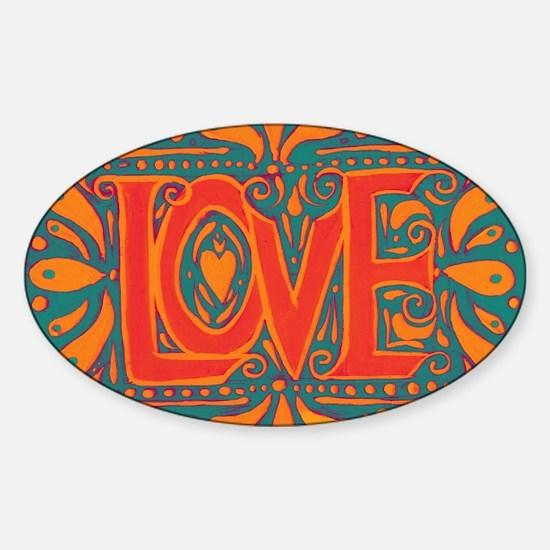 Summer Love Bumper Stickers