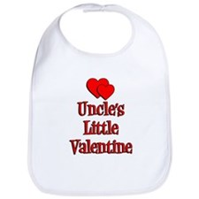 Uncles Little Valentine Bib