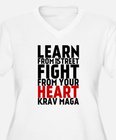 Learn from the street Krav Maga (red heart) Plus S
