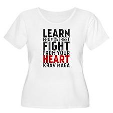 Learn from the street Krav Maga (red heart) Plus S