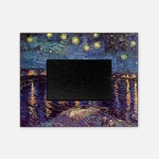 Starry Night over the Rhone. Vintage Picture Frame
