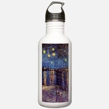Starry Night over the  Water Bottle
