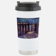 Starry Night over the R Stainless Steel Travel Mug