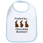 Fuel Chocolate Bunnies Bib