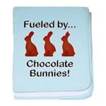 Fuel Chocolate Bunnies baby blanket