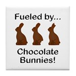 Fuel Chocolate Bunnies Tile Coaster