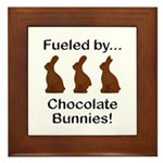 Fuel Chocolate Bunnies Framed Tile