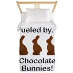 Fuel Chocolate Bunnies Twin Duvet
