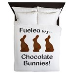 Fuel Chocolate Bunnies Queen Duvet