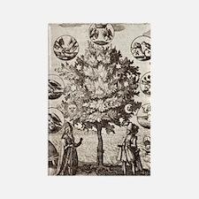 Alchemy Tree Rectangle Magnet