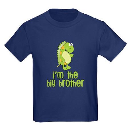 i'm the big brother green Kids Dark T-Shirt