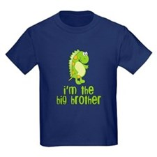 i'm the big brother green T
