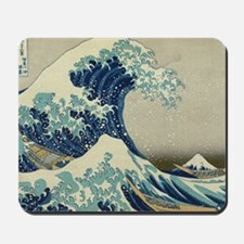 Great Wave off Kanagawa, Japanese art, a Mousepad