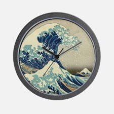 Great Wave off Kanagawa, Japanese art,  Wall Clock