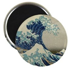 Great Wave off Kanagawa, Japanese art, anci Magnet