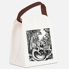 Alchemy Dragon Canvas Lunch Bag