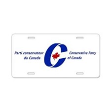 Conservative Party Aluminum License Plate