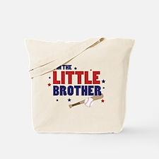 little brother baseball Tote Bag