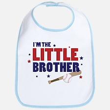 little brother baseball Bib