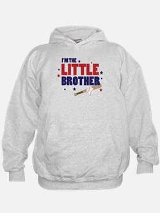 little brother baseball Hoodie