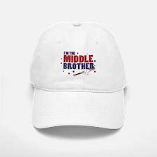 middle brother baseball Baseball Baseball Cap