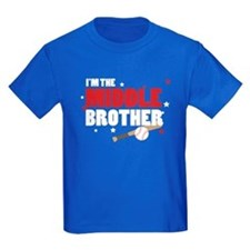 middle brother baseball T