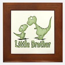 Dinosaurs Little Brother Framed Tile