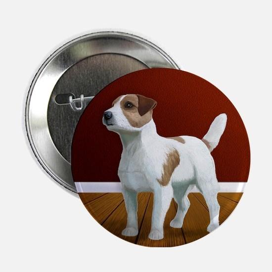 "Jack Russell Terrier 2.25"" Button"