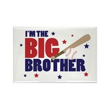 big brother baseball Rectangle Magnet