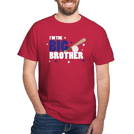 ADULT SIZES - big brother baseball Dark T-Shirt
