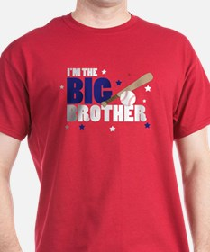 ADULT SIZES - big brother baseball T-Shirt