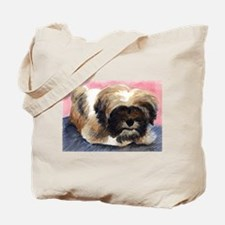 Lhasa Puppy Tote Bag
