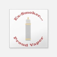 Ex-Smoker Proud Vaper Sticker